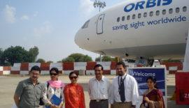 Orbis Flying Eye Hospital Programme visits Jaipur