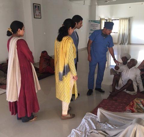 Padmaja Kumari Parmar at Alakh Nayan Mandir